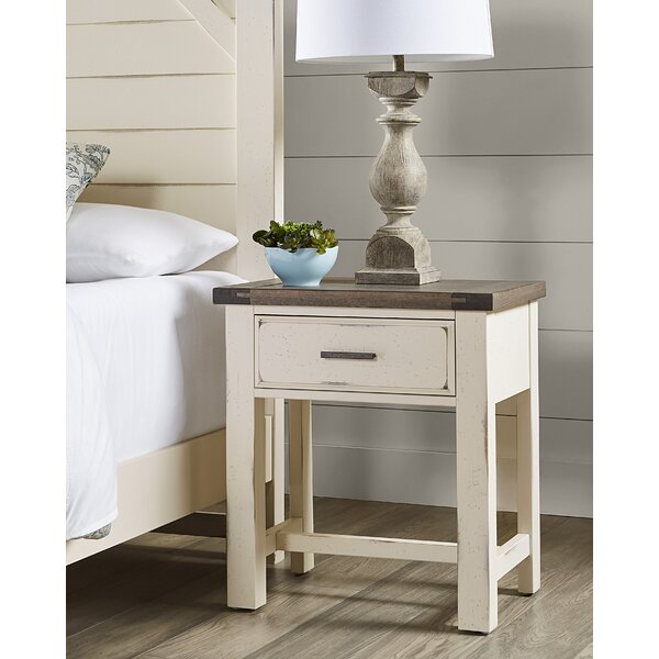 Barkhamsted 1 Drawer Nightstand by Foundry Select