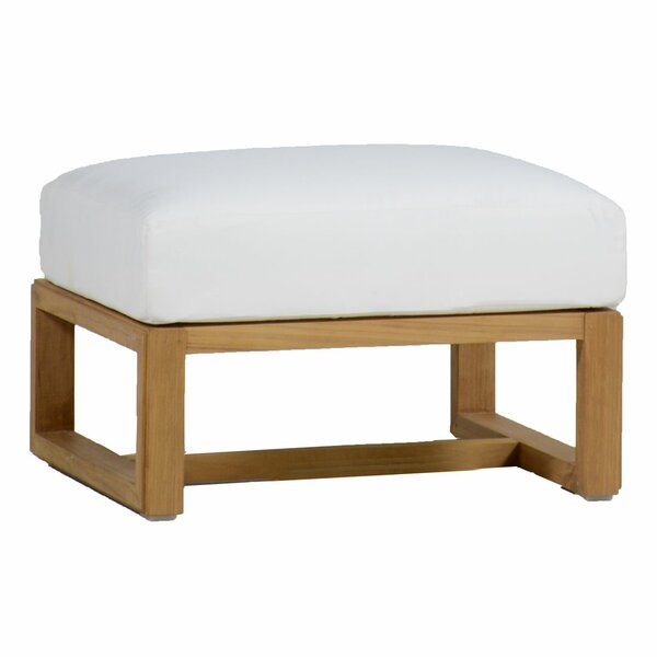 Avondale Teak Ottoman with Cushion by Summer Classics