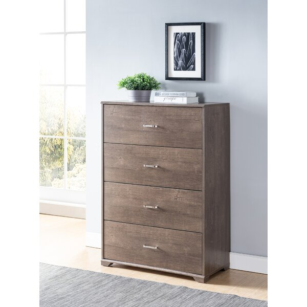 Kidwell 4 Drawer Chest by Harriet Bee