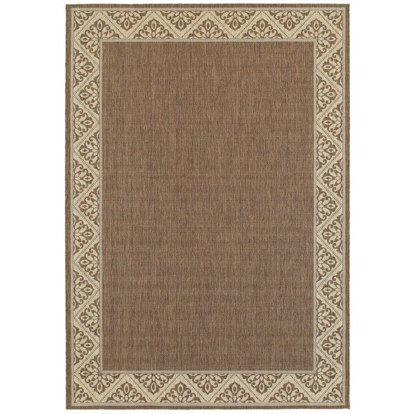 Lachapelle Espresso Indoor/Outdoor Area Rug by Ophelia & Co.