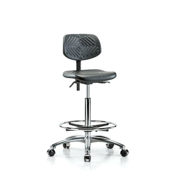 Industrial Low-Back Drafting Chair by Perch Chairs & Stools