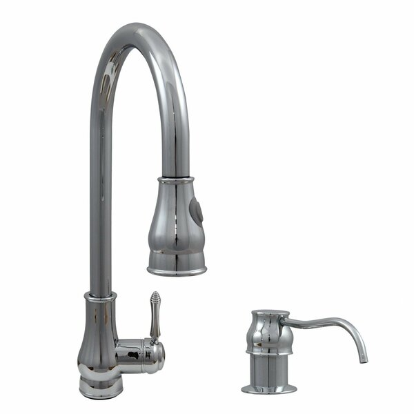 Single Handle Kitchen Faucet and Soap Dispenser by Dyconn Faucet