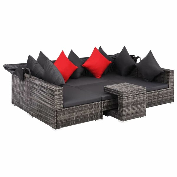Tewkesbury Outdoor 7 Piece Sectional Seating Group with Cushions by Ivy Bronx