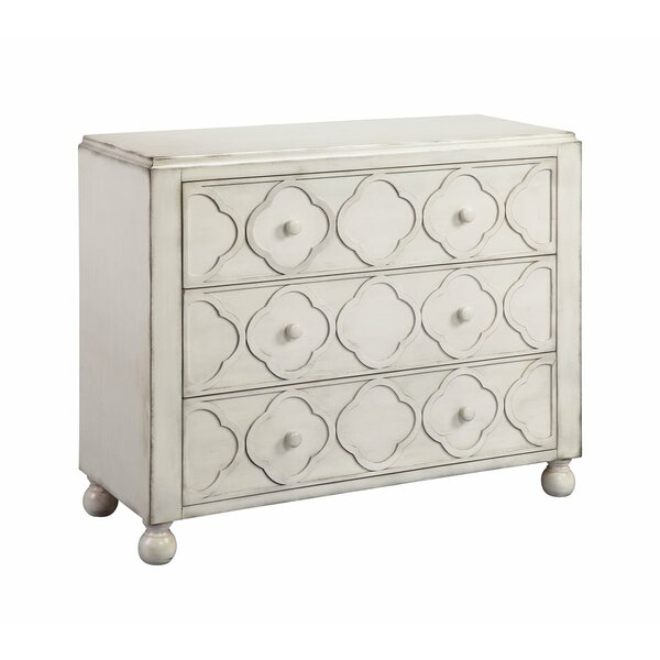 Barrentine 3 Drawer Accent Chest by August Grove August Grove