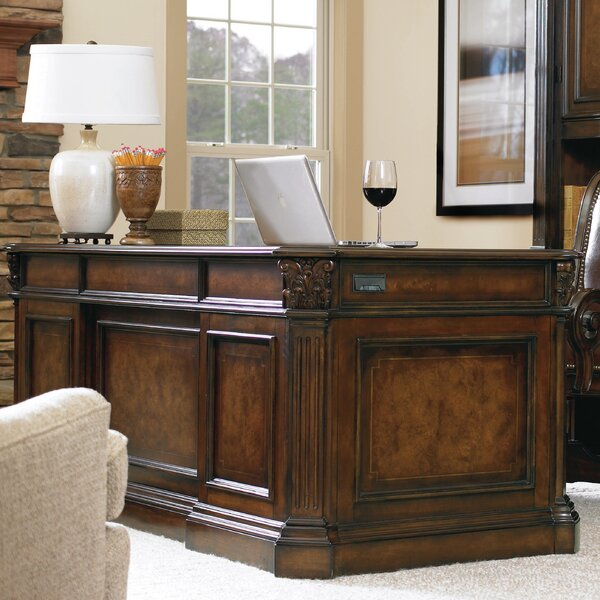 European Renaissance II Kneehole Executive Desk by Hooker Furniture