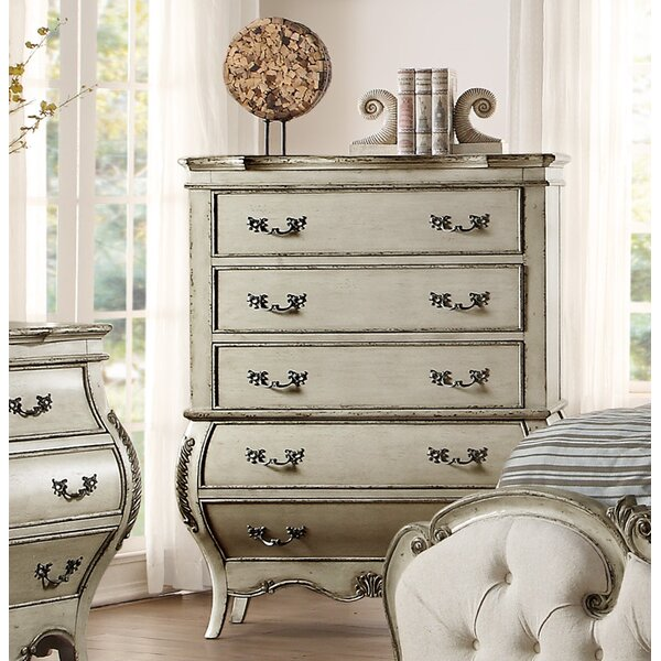 Rhinecliff 5 Drawer Chest by Rosdorf Park