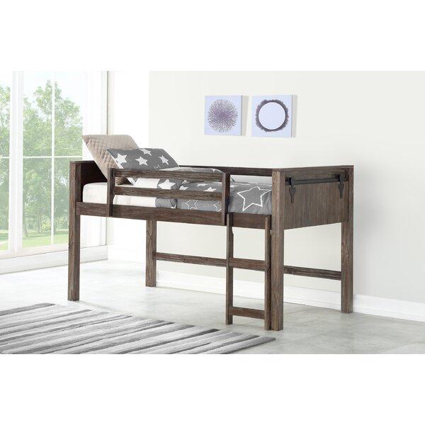 Ivanna Twin Low Loft Bed by Harriet Bee
