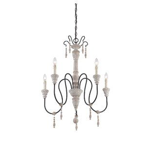 Corneau 5-Light Chandelier ByLark Manor