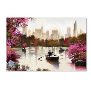 'New York Haze' Print on Canvas by Trademark Fine Art