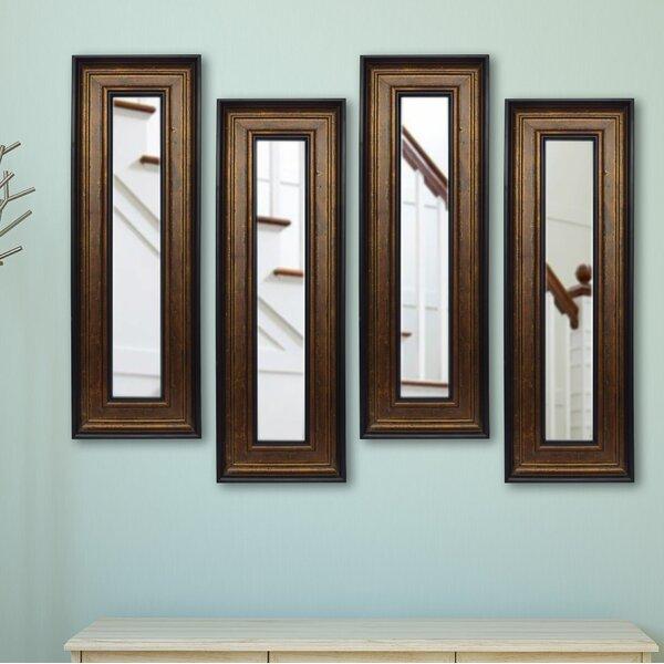 4 Piece Kincannon Panels Mirror Set (Set of 4) by Charlton Home