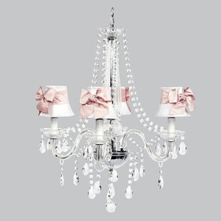 Inexpensive Middleton 4-Light Shaded Chandelier By Jubilee Collection