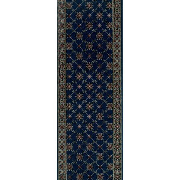 Sidlaghatta Blue Area Rug by Meridian Rugmakers
