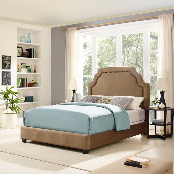 Benedict Keystone Upholstered Standard Bed By Alcott Hill