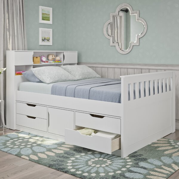 Crisler Full/Double Storage Platform Bed by Rosecliff Heights