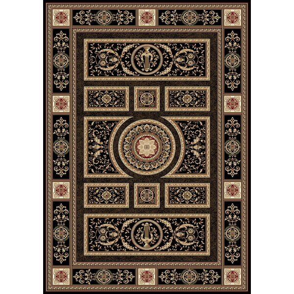 Regency Black Area Rug by Home Dynamix