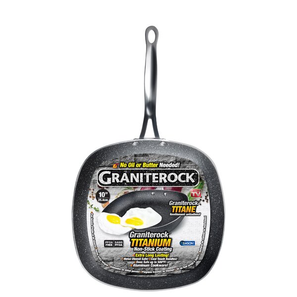 Mineral Enforced Non-stick Frying Pan by Granite Rock