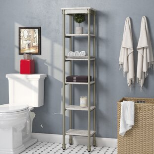 Compare prices Nauman 13 W x 60 H Bathroom Shelf By Beachcrest Home
