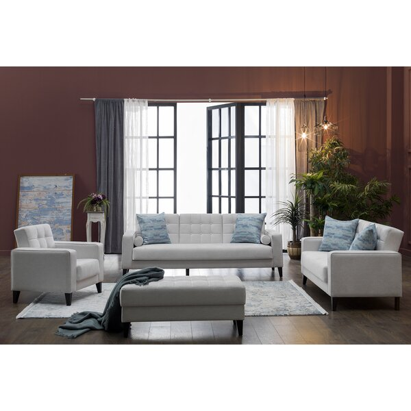 Milton 3 Piece Living Room Set by Brayden Studio