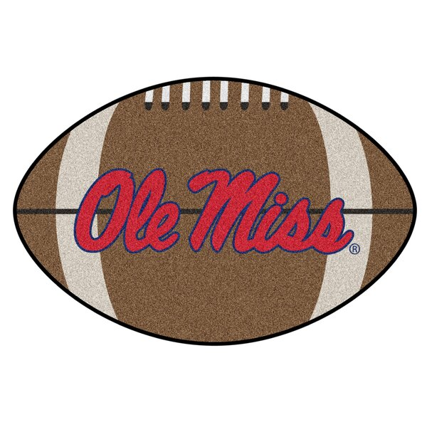 NCAA University of Mississippi (Ole Miss) Football Mat by FANMATS