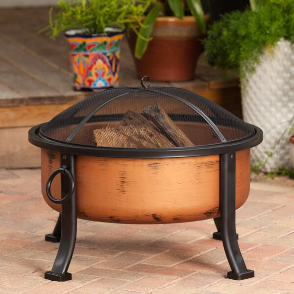 Lumina Steel Wood Burning Fire Pit by Fire Sense