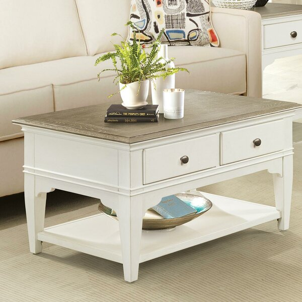 Winterhaven Coffee Table With Storage By Rosecliff Heights
