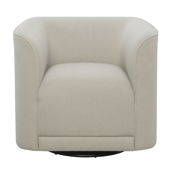 Seibert Swivel Barrel Chair by Orren Ellis Orren Ellis