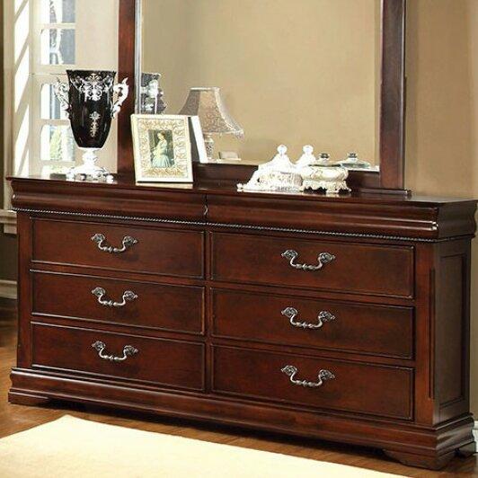 Avondale 6 Drawer Double Dresser by Astoria Grand
