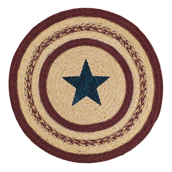 Jute Stencil Star Trivet by August Grove