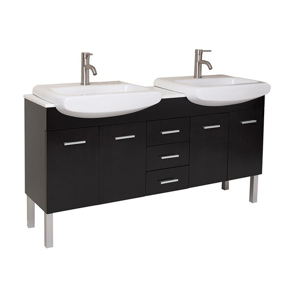 Vetta 60 Double Bathroom Vanity Set by Fresca