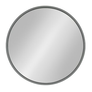Gracie Oaks Homerton Round Wall Accent Mirror