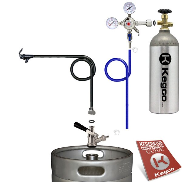Standard Party Beer Dispenser Keg Tap Kit with Tank by Kegco