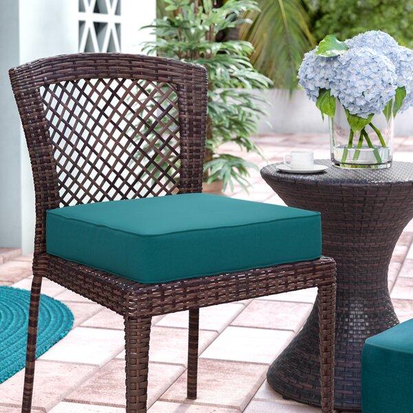 Indoor/Outdoor Sunbrella Dining Chair Cushion by Breakwater Bay