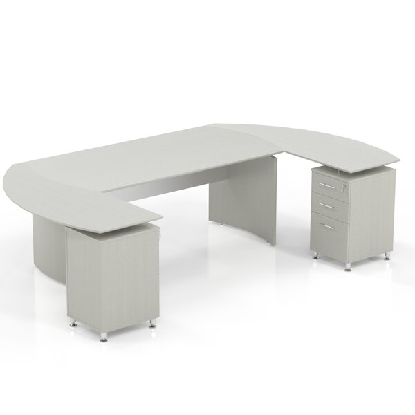 Media Executive Desk by Mayline Group