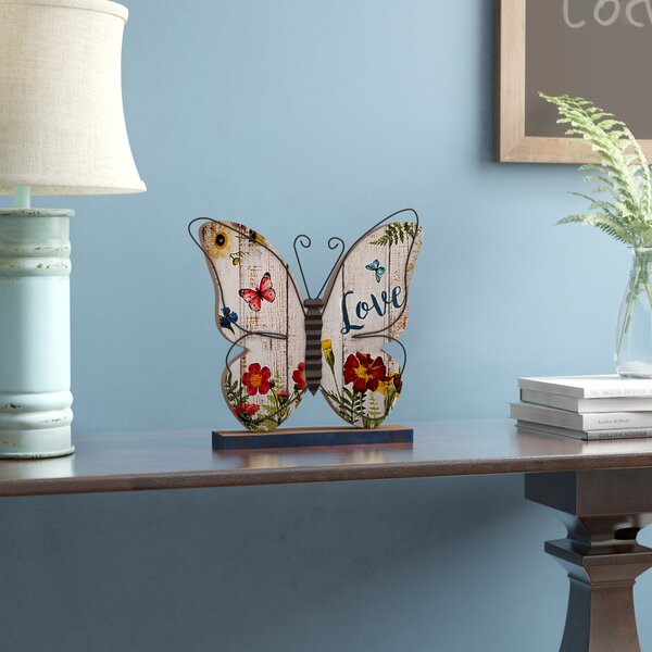 Englishcombe Butterfly Decorative Plaque by August Grove