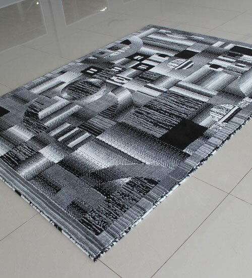 Black/White Area Rug by Rug Tycoon