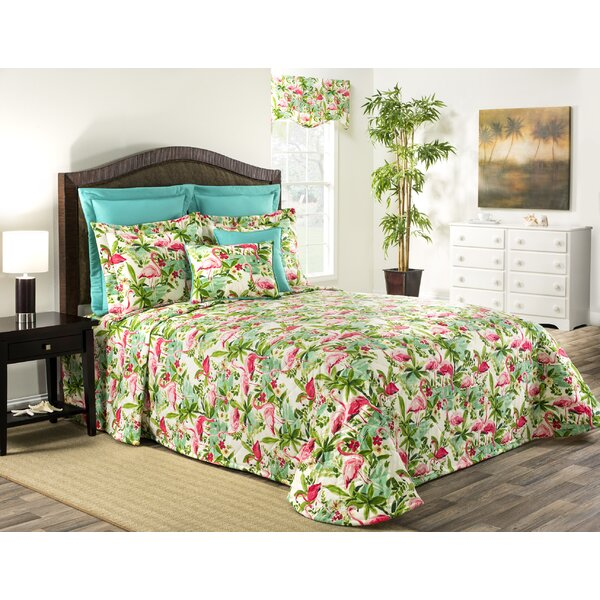 Floridian Flaming Single Bedspread
