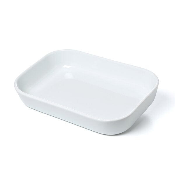 15 x 9.5 Porcelain Baker by Cuisinox