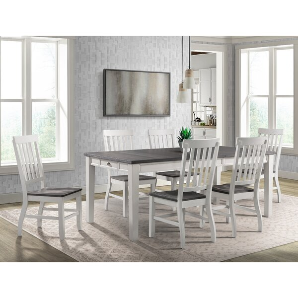 Jamison 7 Piece Extendable Dining Set by August Grove