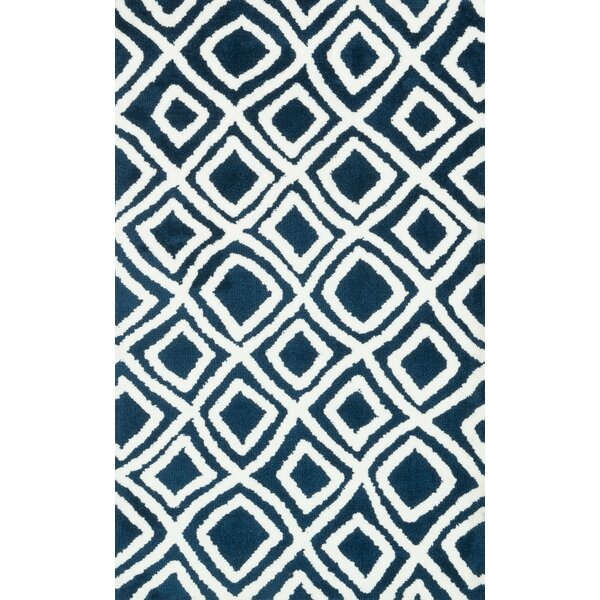 Dane Navy Rug by Wrought Studio