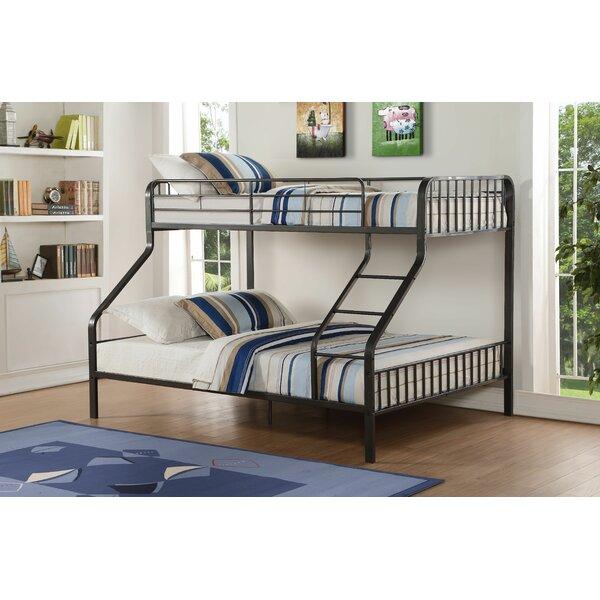Merissa Twin XL Over Queen Bunk Bed by Harriet Bee
