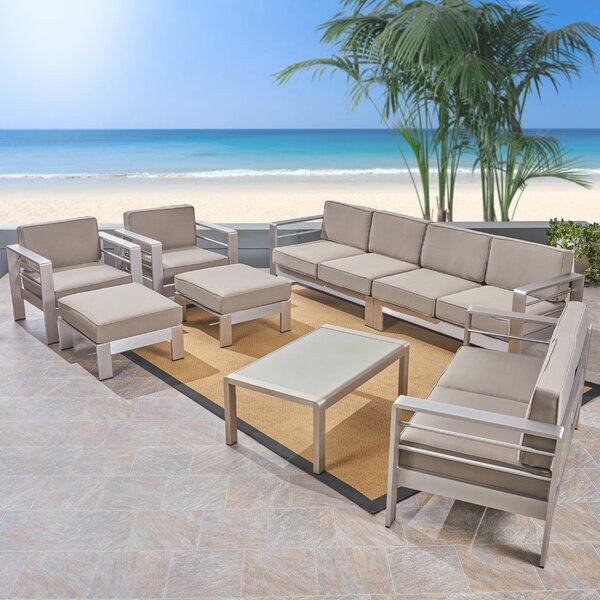 Royalston 12 Piece Sofa Seating Group with Cushions by Brayden Studio