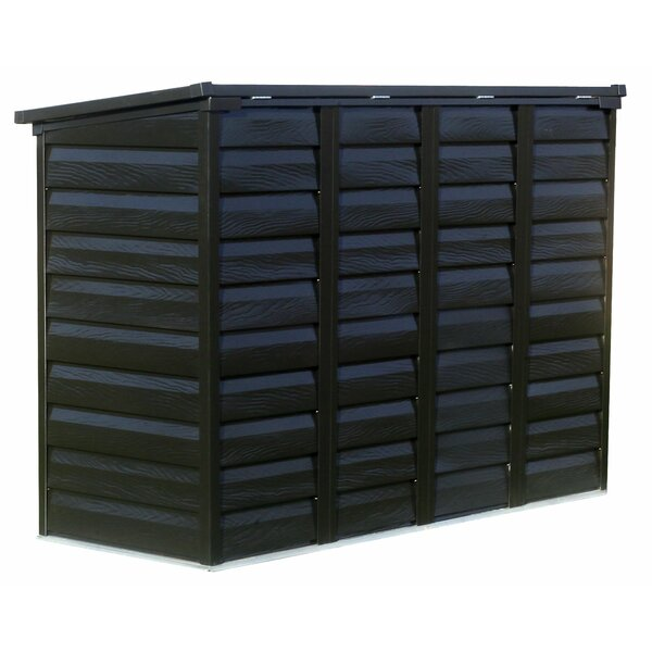 Versa Shed Locking 6 ft. W x 3 ft. D Metal Horizontal Garbage Shed by Arrow