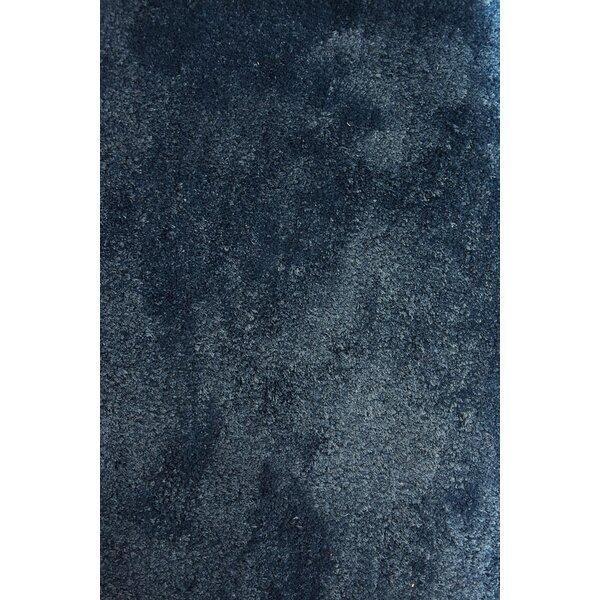Wysocki Modern Navy Blue Area Rug by Orren Ellis