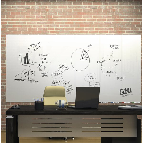 Ghent Aria Low Profile Glass Whiteboard by Ghent