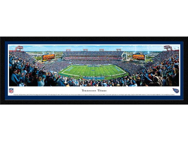 NFL Tennessee Titans by James Blakeway Framed Photographic Print by Blakeway Worldwide Panoramas, Inc