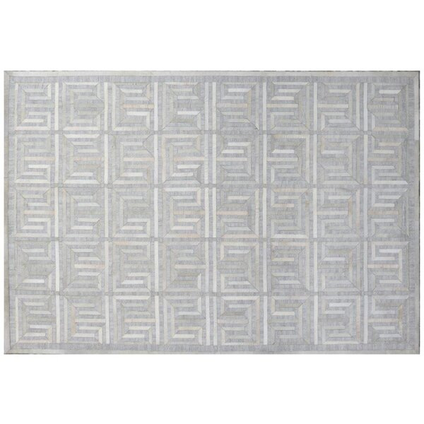 Berlin Silver/Ivory Area Rug by Exquisite Rugs