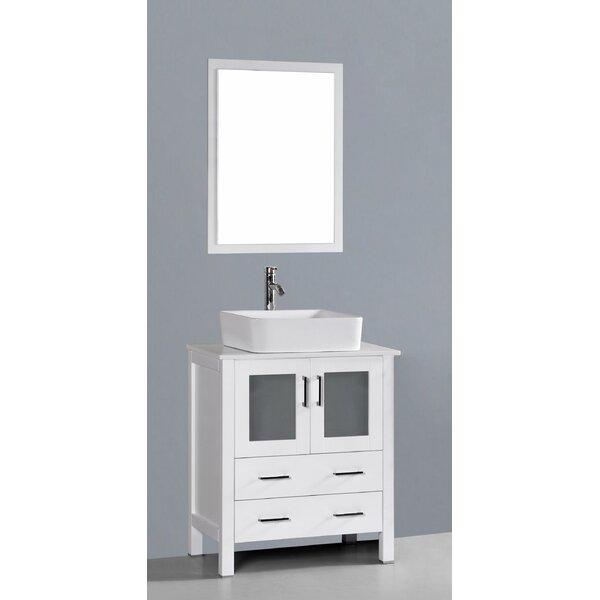 Netto 30 Single Bathroom Vanity Set with Mirror by Ebern Designs