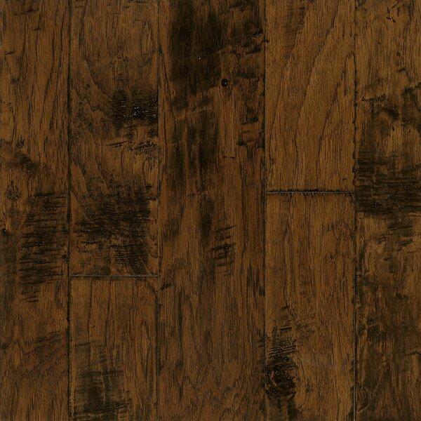 Artesian Random Width Engineered Hickory Hardwood Flooring in Harvest by Armstrong Flooring