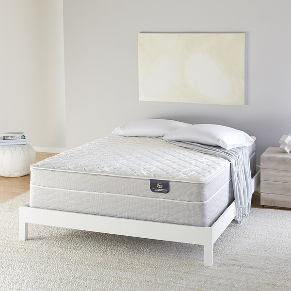 Serta 7 inch Firm Innerspring Mattress and Box Spring by Serta
