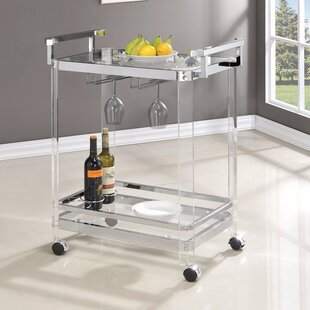 Linch Stylish Metal Base Bar Carts